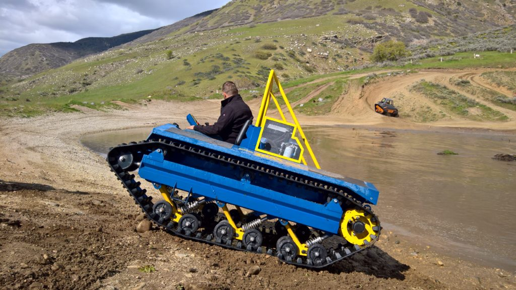 warm weather personal tracked vehicle