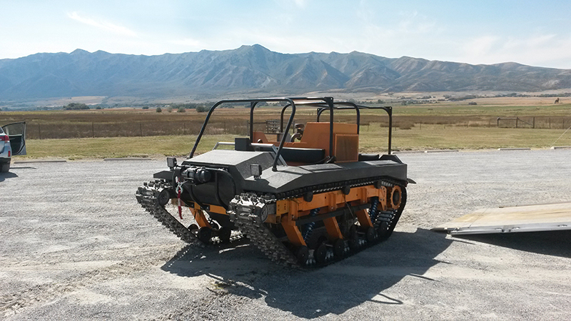 muddtrax vs the other guys, personal tracked vehicle