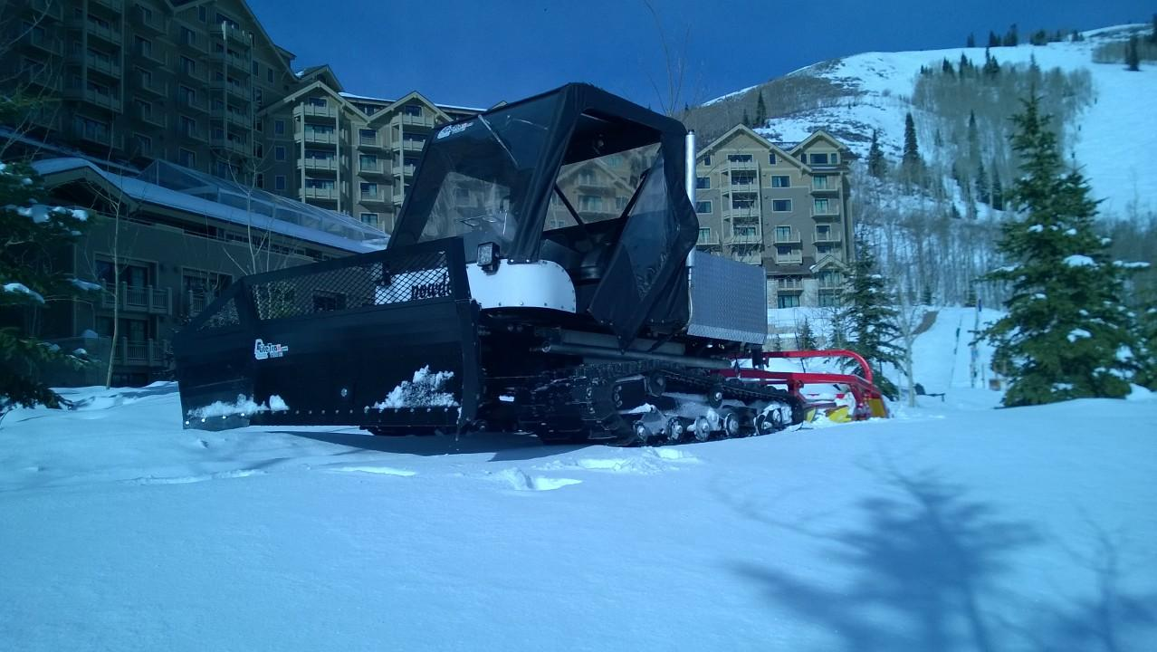 You Need a Personal SnowCat - Lite Trax
