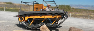 mighty muddtrax Adventure Tracked Vehicle